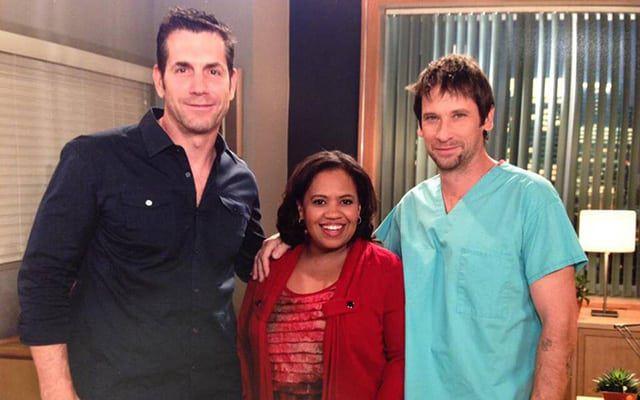 Chandra Wilson, Grey's Anatomy, Frank Valentini, Roger Howarth