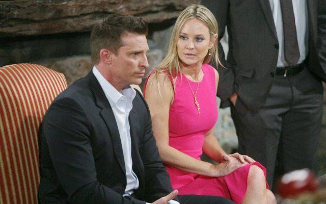 Steve Burton, Sharon Case, The Young and the Restless