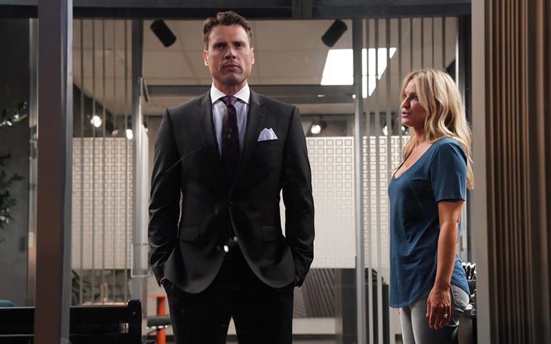 Joshua Morrow, Sharon Case, The Young and the Restless, YR, #YR