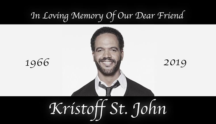 Kristoff St. John, In Memory Of, In Memoriam, The Young and the Restless