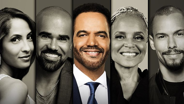 The Talk, The Young and the Restless, Christel Khalil, Bryton James, Shemar Moore, Victoria Rowell, Kristoff St. John
