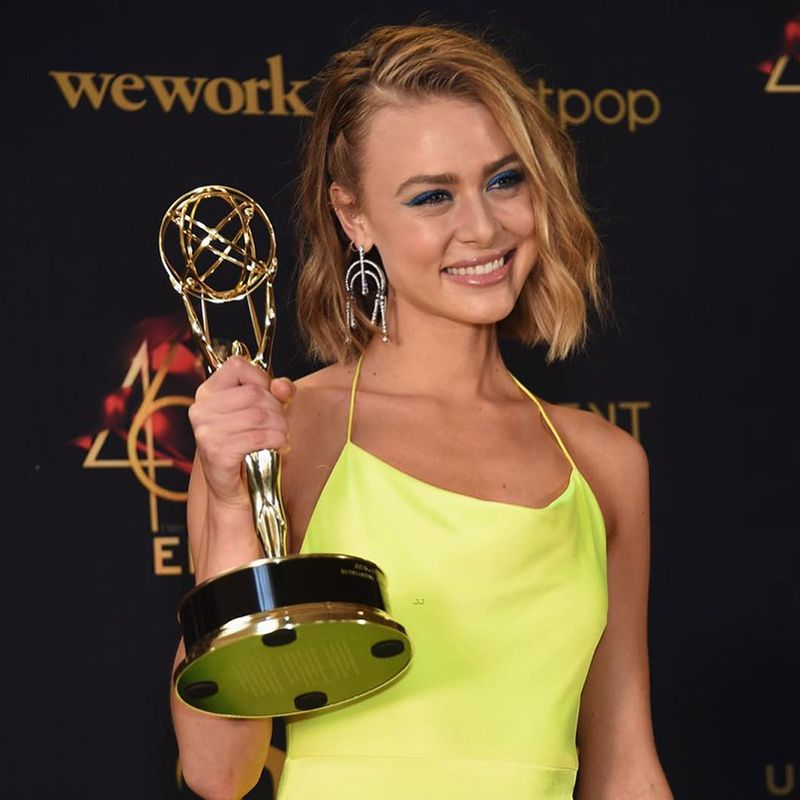 Hayley Erin, General Hospital, The 46th Annual Daytime Emmy Awards