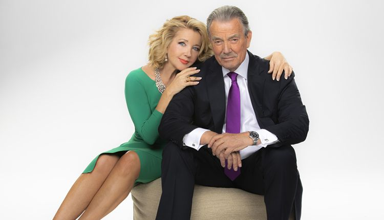 Melody Thomas Scott, Eric Braeden, The Young and the Restless