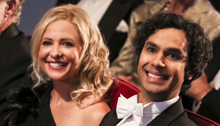 Sarah Michelle Gellar, Buffy the Vampire Slayer, All My Children, Kunal Nayyar, The Big Bang Theory, The Crazy Ones