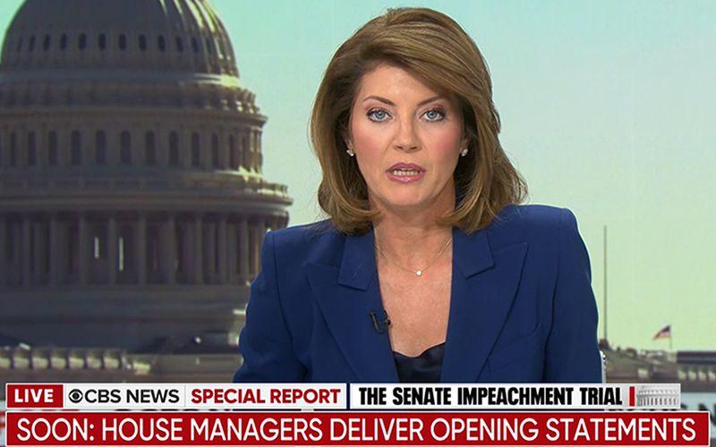 Norah O'Donnell, CBS News, Impeachment Trial