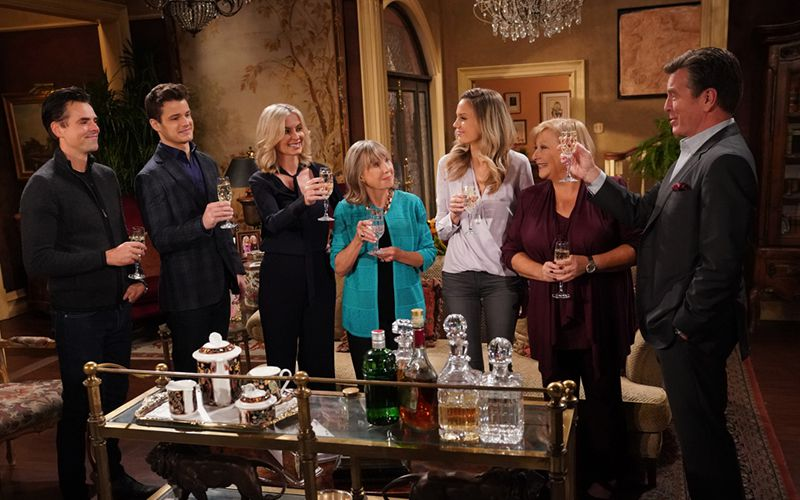 The Young and the Restless, The Abbots, The Newmans