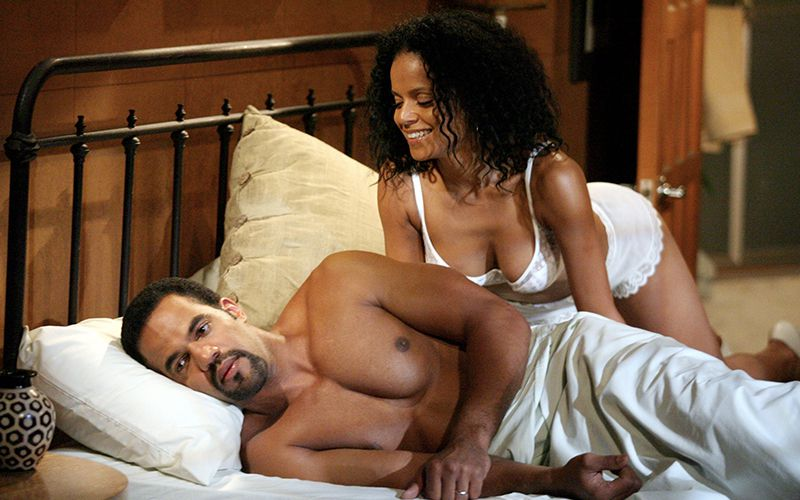 Kristoff St. John, Victoria Rowell, The Young and the Restless