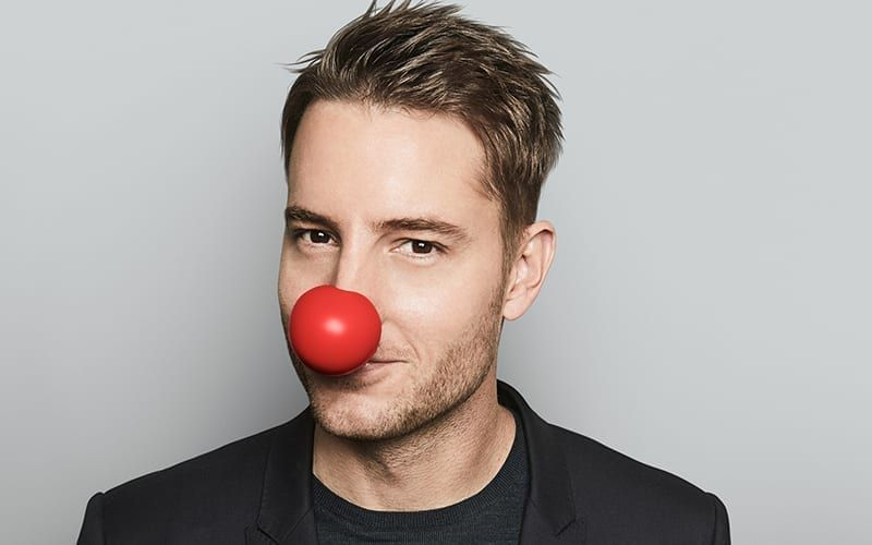 Justin Hartley, The Red Nose Day Special, This is Us, The Young and the Restless, Passions, Smallville
