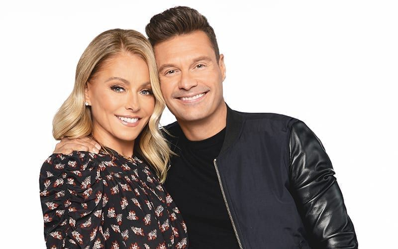 Live with Kelly and Ryan, Kelly Ripa, Ryan Searcrest