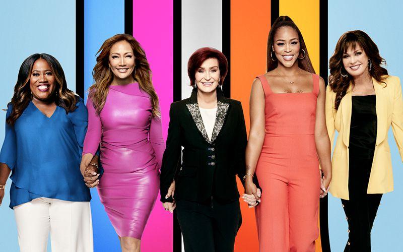 The Talk, Sheryl Underwood, Carrie Ann Inaba, Sharon Osbourne, Eve, Marie Osmond