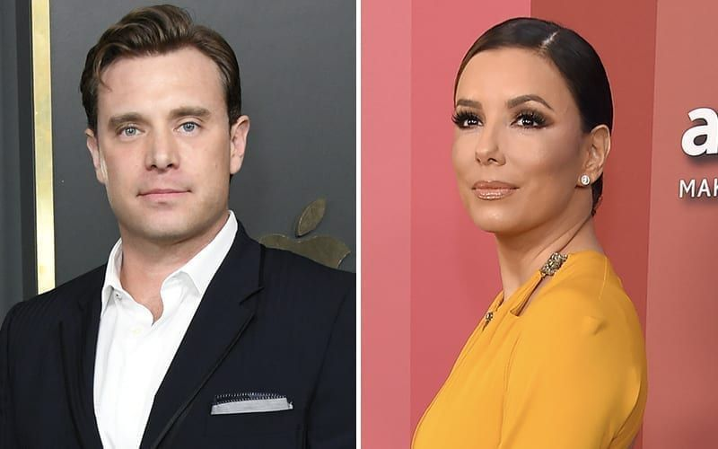 Billy Miller, Eva Longoria, The Young and the Restless