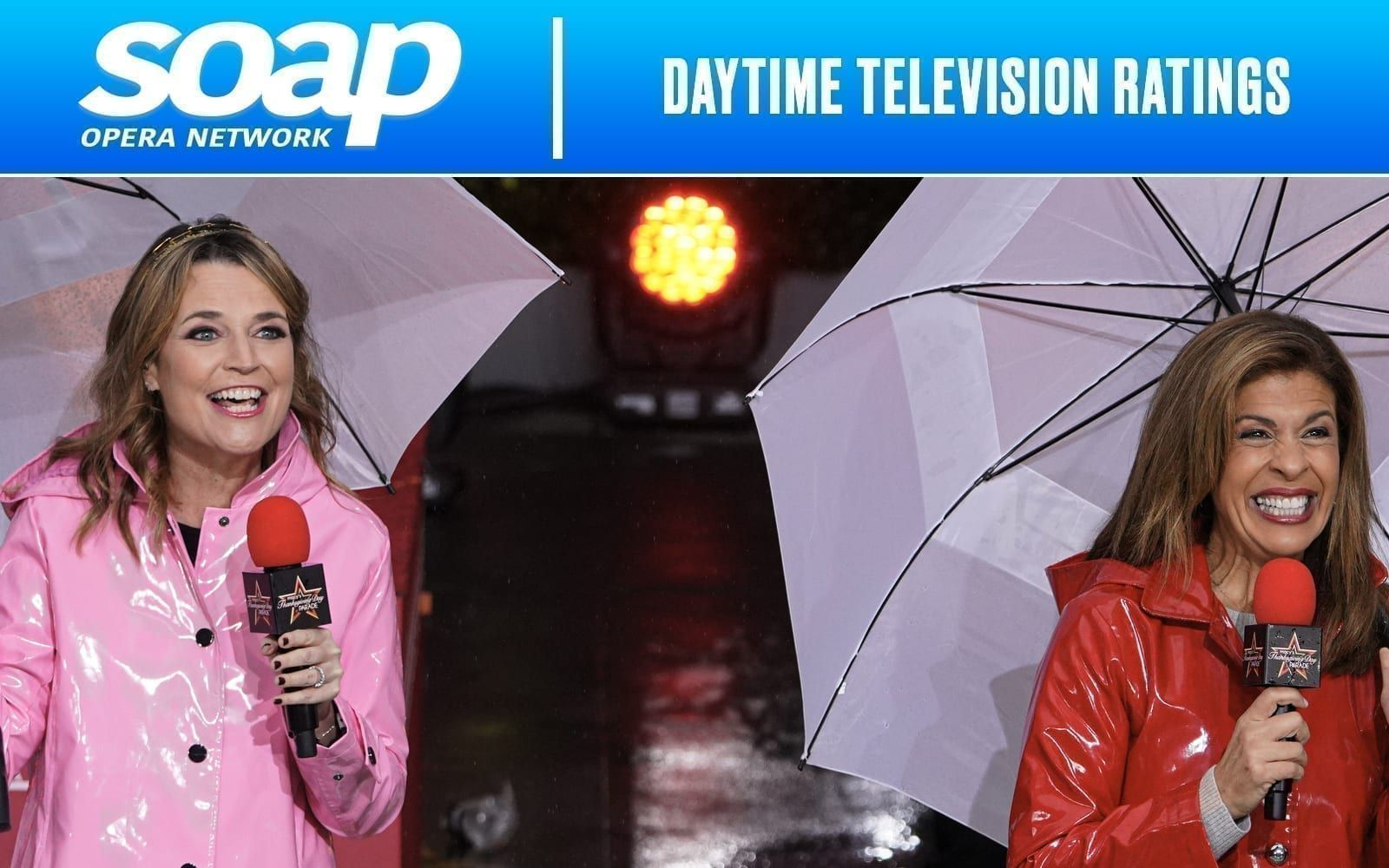 Savannah Guthrie, Hoda Kotb, Daytime Television Ratings, File