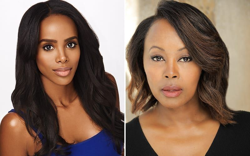Leigh-Ann Rose, Ptosha Storey, The Young and the Restless