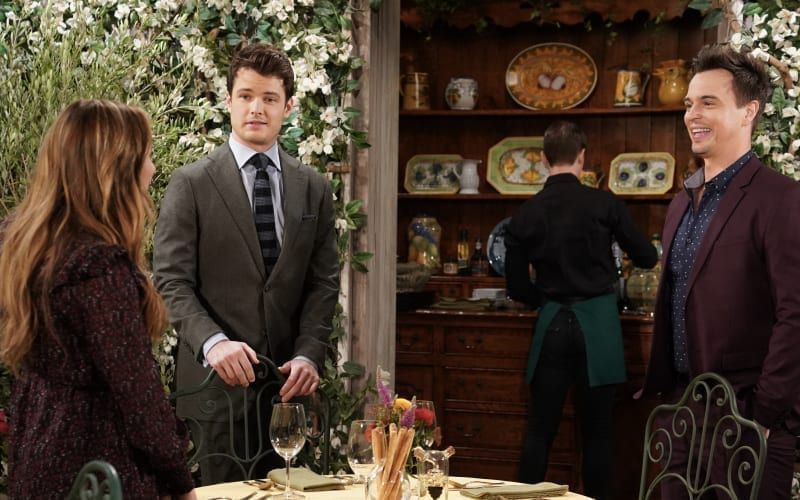 Hunter King, Michael Mealor, Darin Brooks, The Young and the Restless, The Bold and the Beautiful