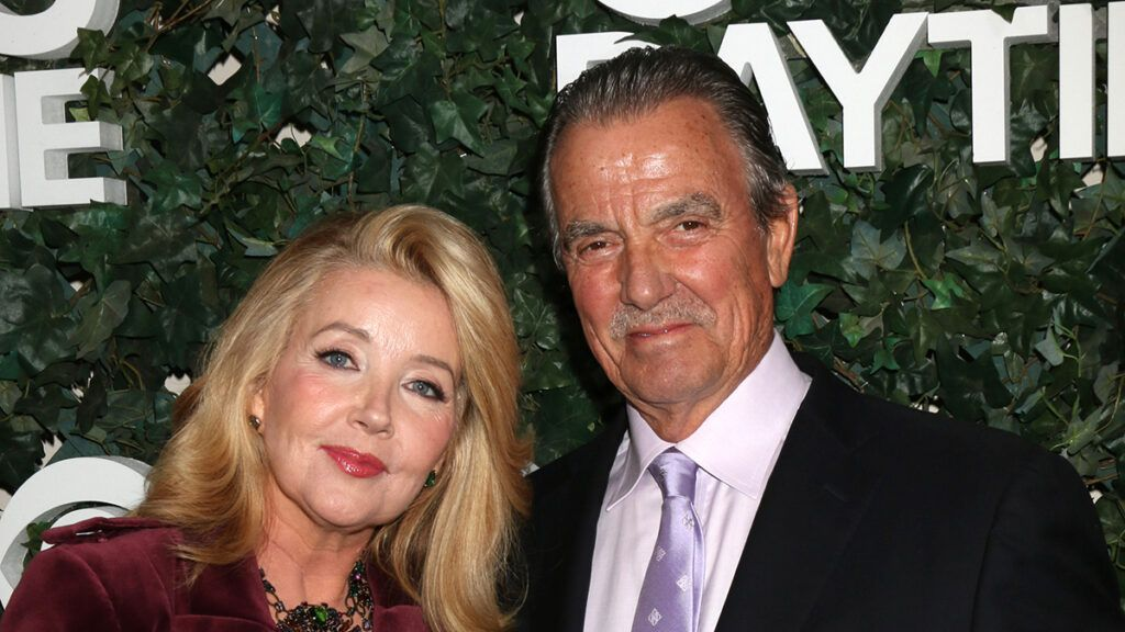 """Melody Thomas Scott, Eric Braeden (""""The Young and the Restless"""")"""