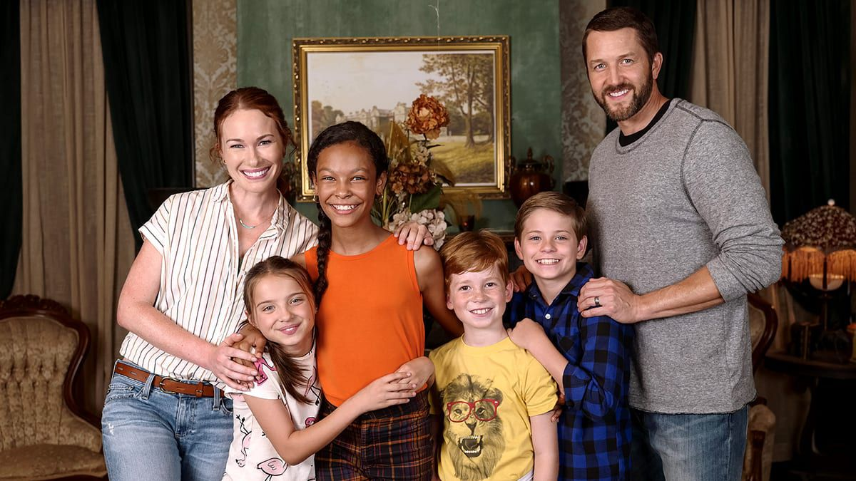 Secrets of Sulphur Springs, Disney Channel, KELLY FRYE, MADELEINE MCGRAW, KYLIEGH CURRAN, LANDON GORDON, PRESTON OLIVER, JOSH BRAATEN