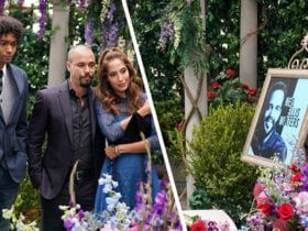 Jacob Aaron Gaines, Bryton James, Christel Khalil, The Young and the Restless