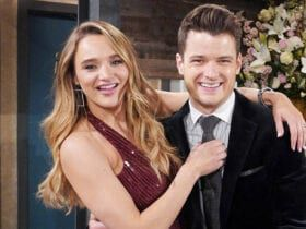 Hunter King, Michael Mealor, The Young and the Restless
