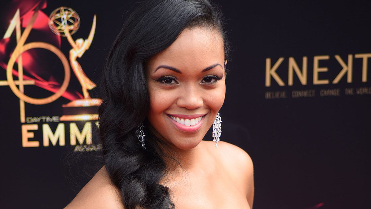Mishael Morgan, Amanda Sinclair, The Young and the Restless, Y&R