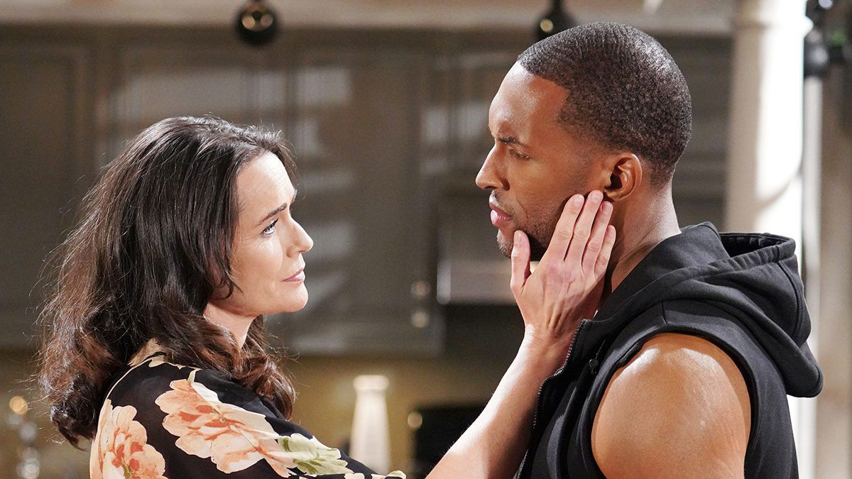 Rena Sofer, Lawrence-Saint Victor, The Bold and the Beautiful