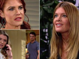 Courtney Hope, Elizabeth Leiner, Michael Mealor, Michelle Stafford, The Young and the Restless