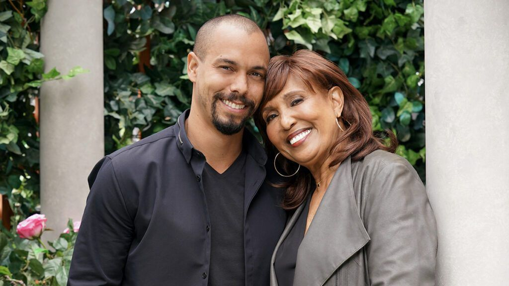Bryton James, Devon Hamilton, Telma Hopkins, Denise Tolliver, The Young and the Restless, Y&R, Family Matters