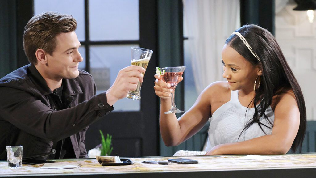 Carson Boatman, Johnny DiMera, Raven Bowens, Chanel Price, Days of our Lives, DAYS, DOOL