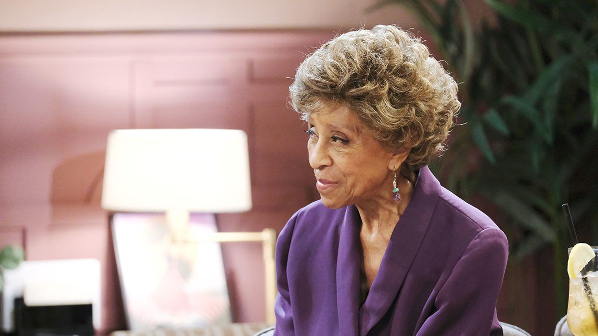 Marla Gibbs, Days of our Lives, DAYS, DOOL, 227, The Jeffersons, Olivia Price