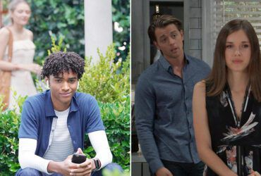 acob Aaron Gaines, Reylynn Caster, Katelyn MacMullen, Chad Duell, General Hospital, GH, #GH, The Young and the Restless, Y&R, #YR