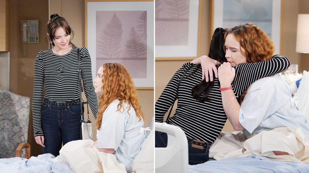 Cait Fairbanks, Camryn Grimes, The Young and the Restless, Y&R, #YR