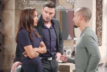 Christel Khalil, Daniel Goddard, Bryton James, The Young and the Restless