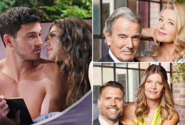 Robert Scott Wilson, Victoria Konefal, Days of our LiEric Braeden, Melody Thomas Scott, Joshua Morrow, Michelle Stafford, The Young and the Restless