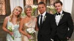 Eden McCoy, Laura Wright, Steve Burton, Chad Duell, General Hospital