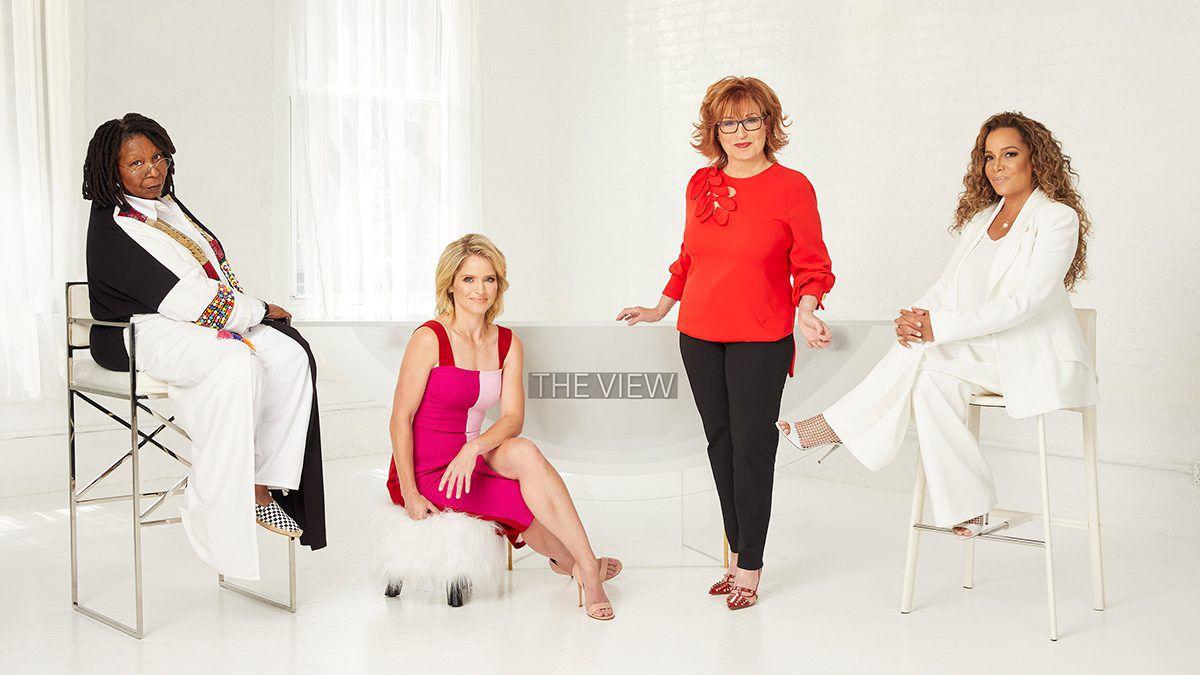 Whoopi Goldberg, Joy Behar, Sara Haines, Sunny Hostin, The View