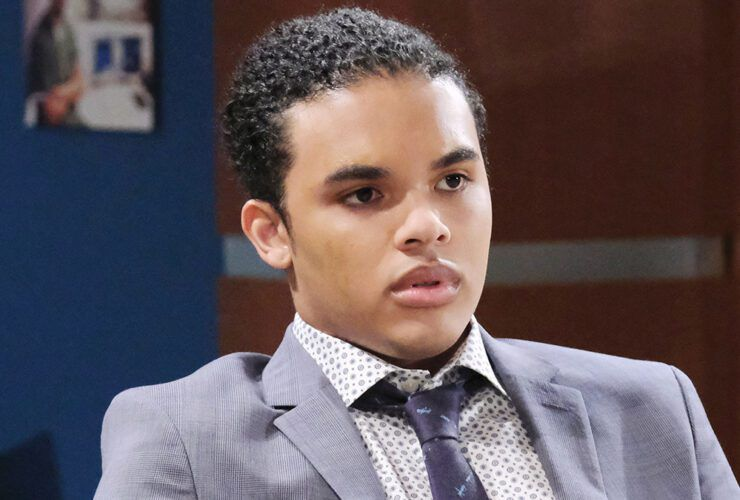 Cameron Johnson, Theo Carver, Days of our Lives, DAYS, #DAYS, DOOL, #DOOL
