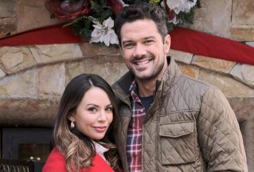 Janel Parrish, Ryan Paevey, Nathan West, General Hospital, GH, #GH, Coyote Creek Christmas, Hallmark Channel